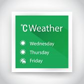 Icon Of Weather For Web And Mobile Applications