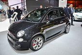 Fiat 500C At The Geneva Motor Show