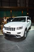 Jeep Grand Cherokee At The Geneva Motor Show
