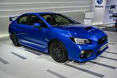 Subaru Wrx Sti  At The Geneva Motor Show