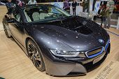 Bmw I8 Plug-in Hybrid At The Geneva Motor Show