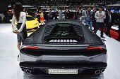 Lamborghini Huracan At The Geneva Motor Show