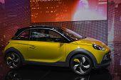 Opel Adam Rocks At The Geneva Motor Show