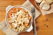 Itaian Sausage And Meatball Rigatoni