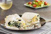Kalua Pork Lasagna Roll