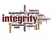 Integrity Word Cloud