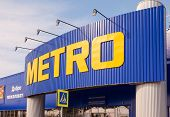Samara, Russia - April 19, 2014: Metro Cash & Carry Samara Store. Metro Group Is A German Global Div