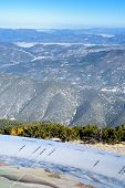 View From The Mont Ventoux Area, Southern France, Alps