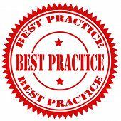 Best Practice-stamp
