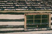 Old Log House - Retro