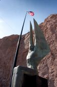 Winged Figures Of The Republic Sculpture At Hoover Dam
