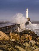 Aberdeen Breakwater.