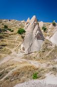picture of goreme  - Strange looking rocks near Goreme - JPG