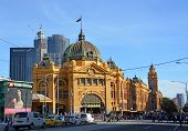 Flinders Street Rail Station, Melbourne.