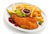 pic of pork cutlet  - Pork chop - JPG
