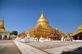 NZAUNG-U MYANMAR - October 9, 2013 : Shwezigon Paya, Bagan, Myanmar.