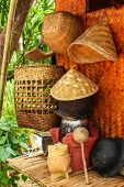 Wicker, Bamboo And Lifestyle Of The Tribe.