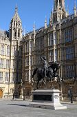 Statue of King Richard 1st in Westminster