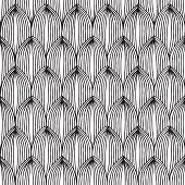 Fruit Seamless Pattern In Black And White