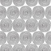 Spiral Seamless Pattern In Black And White