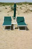 Abandoned Beach Chairs