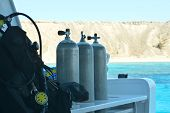 Equipment for scuba diving
