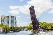 Open Drawbridge In Fort Lauderdale