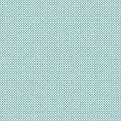 Teal Small Polka Dot Pattern Repeat Background