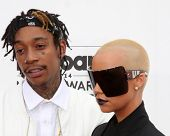 LAS VEGAS - MAY 18:  Wiz Khalifa, Amber Rose at the 2014 Billboard Awards at MGM Grand Garden Arena