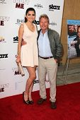 LOS ANGELES - MAY 22:  Blanca Blanco, John Savage at the