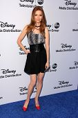 LOS ANGELES - MAY 19:  Darby Stanchfield at the Disney Media Networks International Upfronts at Walt