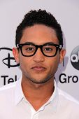LOS ANGELES - MAY 19:  Tahj Mowry at the Disney Media Networks International Upfronts at Walt Disney