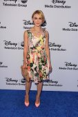LOS ANGELES - MAY 19:  Samaire Armstrong at the Disney Media Networks International Upfronts at Walt