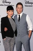 LOS ANGELES - MAY 19:  Ginnifer Goodwin, Josh Dallas at the Disney Media Networks International Upfr