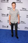 LOS ANGELES - MAY 19:  Lucas Grabeel at the Disney Media Networks International Upfronts at Walt Disney Studios on May 19, 2013 in Burbank, CA