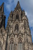 Right Church Spire Of Cologne Cathedral