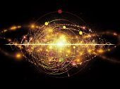 stock photo of quantum physics  - Elementary Particles series - JPG