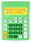 Calculator With Professional Development