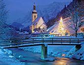 Christmas Time in Ramsau,Bavaria,Berchtesgaden