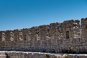 Ancient Stone Fortress Wall