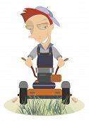 Lawnmower illustration