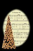 Christmas Carol and tree.