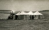 Military camp in Poland, sixties