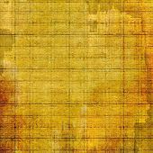 Retro background with grunge texture. With different color patterns: yellow, brown