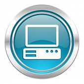 computer icon, pc sign