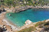 stock photo of ares  - Beach of Veia de Majorque island near Spain in Europe - JPG