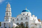 The white church of Pyrgos