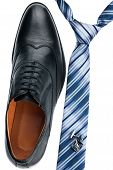 Men's Shoes, Tie, Cufflinks, Classic Style