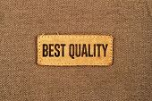 Best Quality Leather Label Tag
