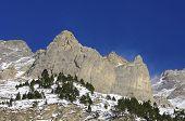 Peak in La Larri Valley in Pyrenees, Huesca, Aragon, Spain